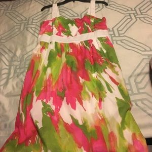 Columbia size M cute tropical dress. NWOT
